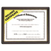 Nu-Dell Economy Pre-Framed Award Certificate | www.SelectOfficeProducts.com