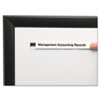 Panter Company Clear Magnetic Label Holders   www.SelectOfficeProducts.com