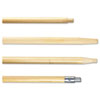 Boardwalk® Tapered End Hardwood Broom Handle | www.SelectOfficeProducts.com