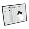 Quartet® Employee In/Out Board System | www.SelectOfficeProducts.com