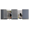 Quartet® Premium Workstation Privacy Screen | www.SelectOfficeProducts.com