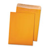 Quality Park™ 100% Recycled Brown Kraft Redi-Seal™ Envelope | www.SelectOfficeProducts.com