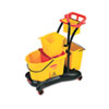 Rubbermaid® Commercial WaveBrake® Mopping Trolley Side Press | www.SelectOfficeProducts.com