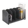 Safco® Five-Section Adjustable Steel Book Rack | www.SelectOfficeProducts.com