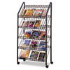 Safco® Mobile Literature Rack | www.SelectOfficeProducts.com