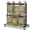 Safco® Two-Tier Chair Cart | www.SelectOfficeProducts.com