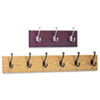 Safco® Wood Wall Racks | www.SelectOfficeProducts.com