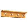 Safco® Contempo™ Wood Wall Racks | www.SelectOfficeProducts.com