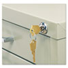 Safco® Field Installable Lock Kit | www.SelectOfficeProducts.com