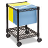 Safco® Compact Mobile Wire File Cart | www.SelectOfficeProducts.com
