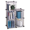 Safco® Wire Cube Shelving System | www.SelectOfficeProducts.com