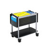 Safco® Scoot™ Open Top Mobile File Cart | www.SelectOfficeProducts.com