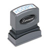 Xstamper® ECO-GREEN One-Color Title Stamp | www.SelectOfficeProducts.com