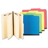 S J Paper Economy Six-Section Classification Folders | www.SelectOfficeProducts.com