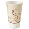 Symphony Trophy Plus Dual Temperature Cups, 22 oz, Beige, 750/Carton