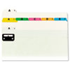 Smead® Alphabetic Top Tab Indexed File Guide Set | www.SelectOfficeProducts.com