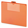 Smead® Red Poly Top Tab Pocket Guides | www.SelectOfficeProducts.com