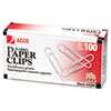 ACCO Economy Paper Clips | www.SelectOfficeProducts.com