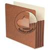 Smead® Redrope TUFF® Pocket Drop Front File Pockets with Tyvek® Lined Gussets | www.SelectOfficeProducts.com