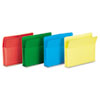 Smead® Poly Drop Front File Pockets | www.SelectOfficeProducts.com