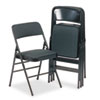 Bridgeport™ Deluxe Fabric Padded Seat and Back Folding Chair | www.SelectOfficeProducts.com