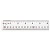 Westcott® Clear Flexible Acrylic Ruler | www.SelectOfficeProducts.com