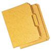 Universal® Reinforced Kraft Top Tab File Folders | www.SelectOfficeProducts.com