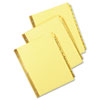 Universal® Preprinted Plastic Coated Tab Dividers with Black Printing | www.SelectOfficeProducts.com