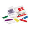Universal® Hanging File Folder Plastic Index Tabs | www.SelectOfficeProducts.com