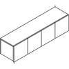 HON® Voi® Four-Door Overhead Cabinet | www.SelectOfficeProducts.com