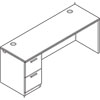 HON® Arrive™ Wood Veneer Series Single Pedestal Credenza | www.SelectOfficeProducts.com