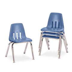 "Virco® 9000 Series Classroom Chairs, 14"" Seat Height"