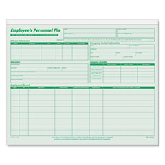 TOPS® Employee's Record File Folder