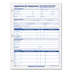 TOPS® Employee Application Form