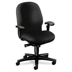 HON® Sensible Seating® Series High-Back Swivel Chair without Arms