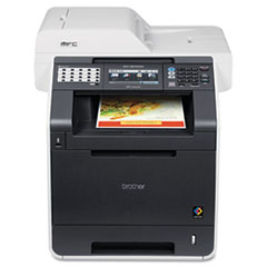 Brother® MFC-9970CDW Color Laser All-in-One with Wireless Networking and Duplex
