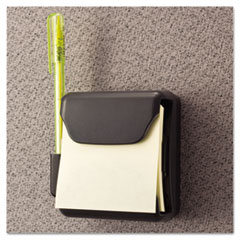 Universal® Recycled Plastic Cubicle Pop-Up Note Dispenser