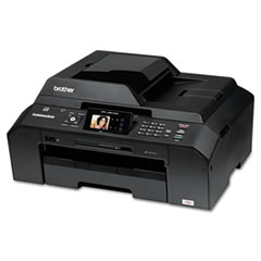 "Brother® MFC-J5910DW All-in-One Color Inkjet Printer with Up to 11"" x 17"" Duplex Printing and Wireless Networking"