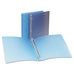 Avery Translucent Flexible Non Stick Binder with Round Rings
