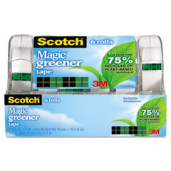 Scotch® Magic™ Greener Tape in Refillable Handheld Dispenser