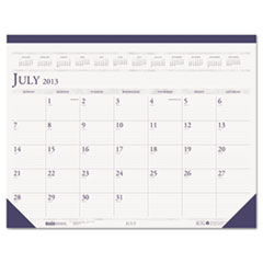 House of Doolittle Two-Color Dated Monthly Desk Pad Calendar