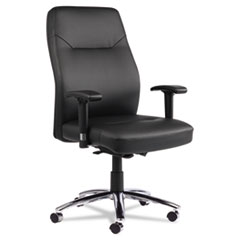 Alera® LC Leather Series Self-Adjusting Leather Chair
