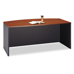 Bush® Series C Bow Front Desk