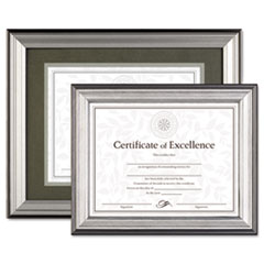 DAX® Charcoal/Nickel-Tone Document Frame