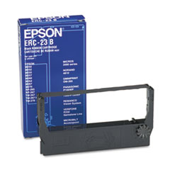 Epson® ERC23B, ERC23BR Cash Register Ribbon