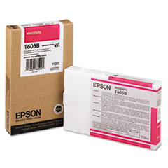 Epson® T605B00, T605C00 Inkjet Cartridge
