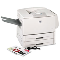 HP LaserJet 9050dn Network-Ready Monochrome Laser Printer with Auto Duplex Printing