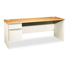HON® 38000 Series Single Pedestal Credenza