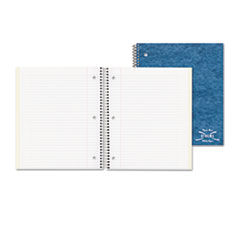 National Brand Three-Subject Wirebound Notebooks with Pocket Dividers