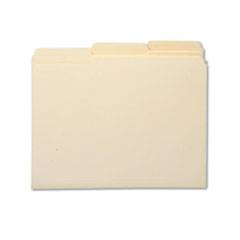 Smead® 100% Recycled Manila Top Tab File Folders
